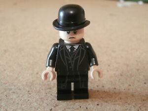 LEGO-Minifig-Harry-Potter-Minister-of-Magic-Magique-Cornelius-Fudge-Neuf