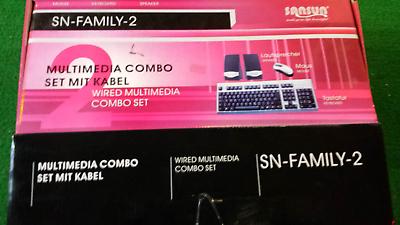 Set Con Tastiera + Casse 100w + Laser-mouse 6 Pin Porte Ps2-mostra Il Titolo Originale