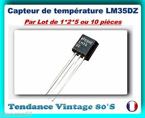 LOT-DE-1-2-5-OU-10-LM35DZ-CAPTEURS-DE-TEMPERATURE-PRECISION