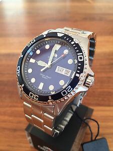 BEST-PRICE-NEW-Orient-Ray-II-2-blue-Automatic-Watch-Automatik-Taucher-Uhr