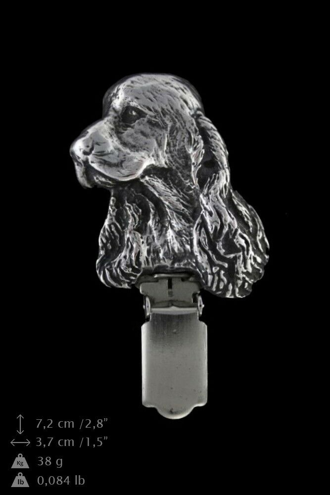 Cocker Spaniel - keyring, pendant, pendant, pendant, clipring, set with dog, Art Dog type 2 400b39