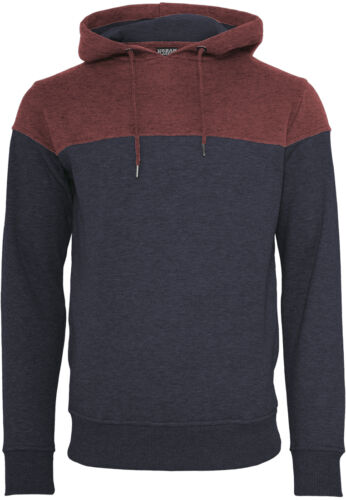 Sweatshirt Kapuze Classics Kapuzenpullover Block Melange Urban Hoody qWPTXpWw