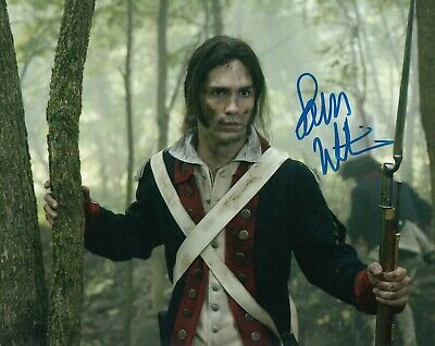 Tv Show 8x10 *mr Strong-Willed Sam Witwer Signed once Upon A Time Hyde* Photo W/coa #2