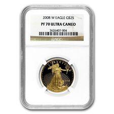 2008-W 1/2 oz Proof Gold American Eagle PF-70 NGC - KSU #67121