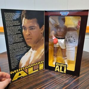 """1997 MUHAMMAD ALI 12"""" TIMELESS LEGENDS STARTING LINEUP. VERY HARD TO FIND."""