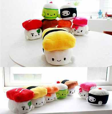 "Japanese Food Sushi 6"" Soft Cushion Stuffed Doll Series (1) Cute Kawaii Toy Gift"