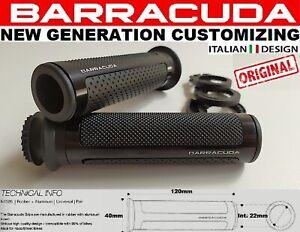 buona qualità più popolare miglior fornitore Dettagli su BARRACUDA COPPIA MANOPOLE RACING SUPERGRIP NERE PER HONDA CBR  1000 RR 2007 2008
