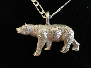 Gunther-Grant-Sterling-Silver-polar-bear-pendant-USA-a