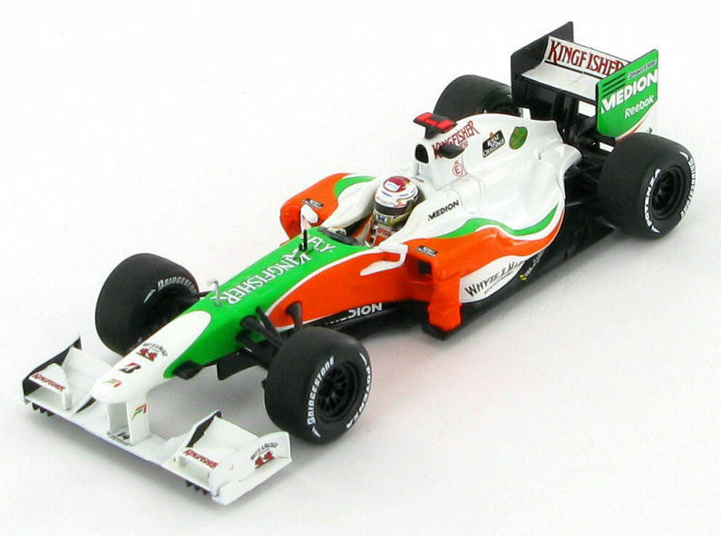 Force India Adrian Sutil Showcar 2010 1 43 - Minichamps 400 100084