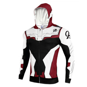 Men-039-s-The-Avengers-4-Endgame-Hoodie-Cosplay-Costume-Sweater-Jacket-Hooded-Zip-Up