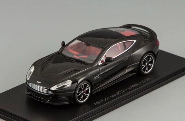 Minichamps Scale Aston Martin V Vanquish Black - Aston martin vanquish black
