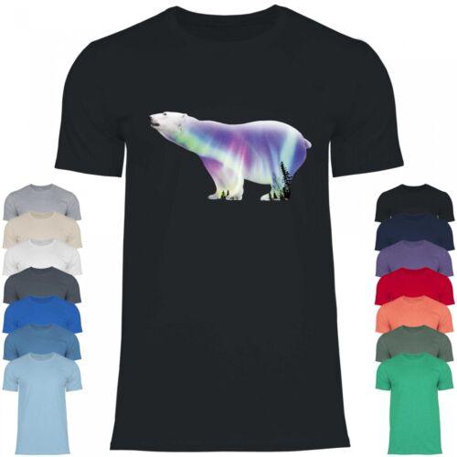 Royal Shirt rs123 T-Shirt Hommes OursStylé Ours Polaire avec Polaire Lumières