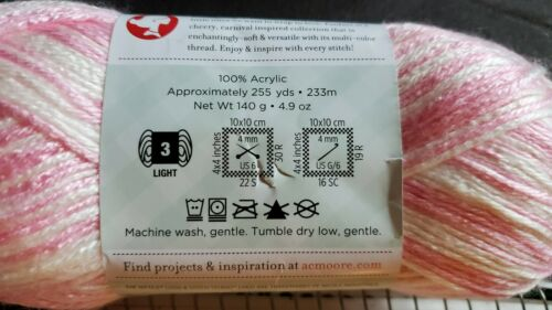 New Stitch Studio By Nicole STORYBOOK FANFARE Arctic CANDY CRUMPLE PINK