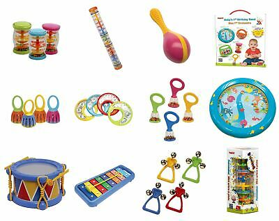 Baby Musical Music Instrument Rattle Xylophone Halilit Cage 1x Maracas