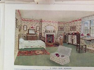 m10-9c-ephemera-1905-picture-book-plate-a-girl-039-s-rose-bedroom