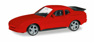 Herpa-012768-002-Minikit-Porsche-944-Red-Car-Model-1-87-H0