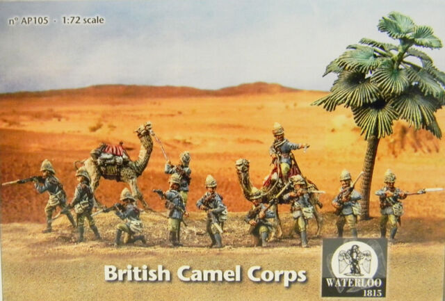 1:72 Waterloo 1815 British Camel Corps AP105