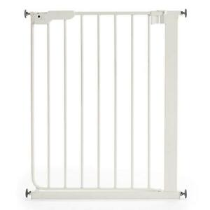 BabyDan Stair Gate Door Baby Narrow Danamic Pressure Mount Metal White 63-69.5cm