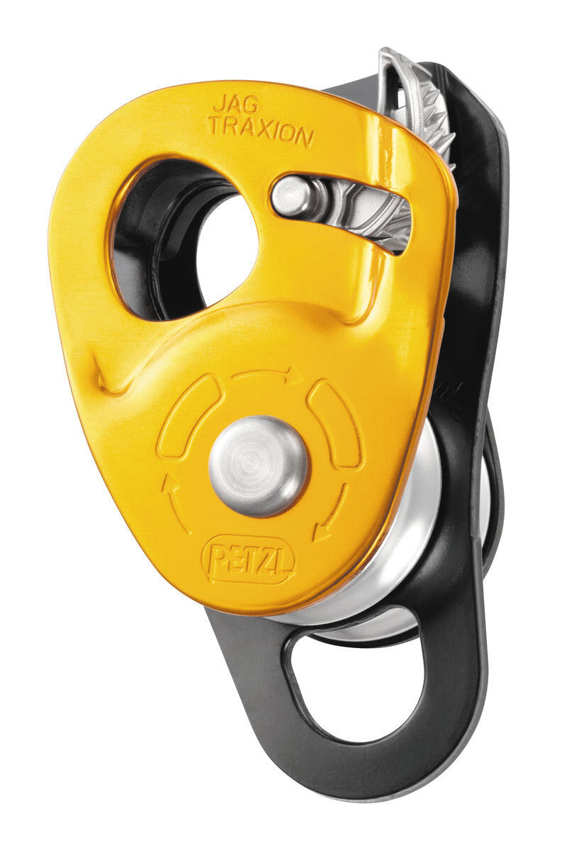JAG DOUBLE TRAXION PULLEY CE EN & NFPA Petzl