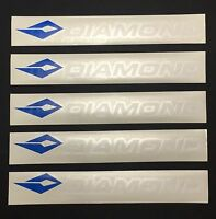 Diamond By Bowtech - Five (5) Precision Cut Stickers / Decals - Free Shipping