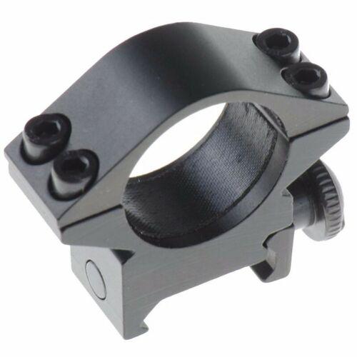 """2 PCS Optical Sight Bracket Metal Rifle Scope Mount Rings 1/"""" Ring 25.4mm Camping"""