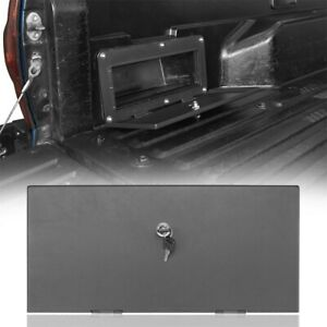 FOR 05-21 TOYOTA TACOMA REAR DRIVER SIDE BED STORAGE BOX STEEL COVER LOCKABLE