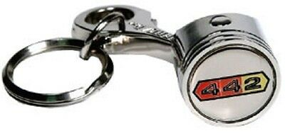 Oldsmobile Olds 442  Piston  Keychain Key Chain Fob Ring
