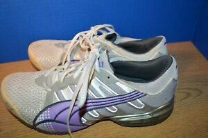 c707fc96 Details about WOMENS PUMA PURPLE GRAY RUNNING SHOES SIZE 9,5 MED MED  EXCELLENT