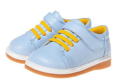 LITTLE BLUE LAMB Squeaky Shoes Schuhe Sneaker Halbschuhe 5227 hellblau NEU