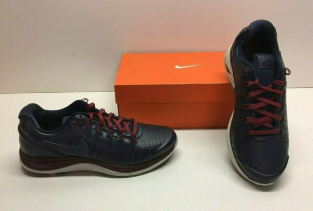 newest ed2e5 06ce7 Nike Lunar Glide Lunarglide 4 Running Black Athletic SNEAKERS Shoes Mens 8.5