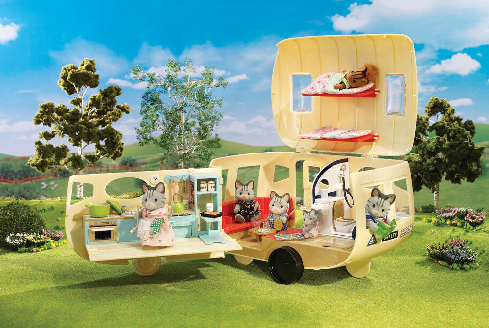 Calico Critters 2134 Calico Family Camper