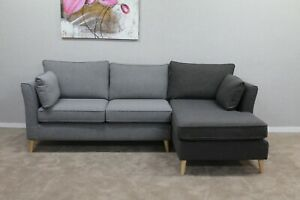 Next-Farell-Light-amp-Charcoal-Grey-Fabric-4-Seater-Chaise-Sofa