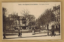 Cpa Paris - ses squares et ses jardins square Louvois rp0470