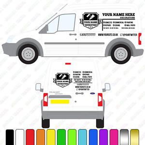 f95870384d Image is loading Decorators-Van-Sign-Small-Medium-Van-Custom-Vinyl-