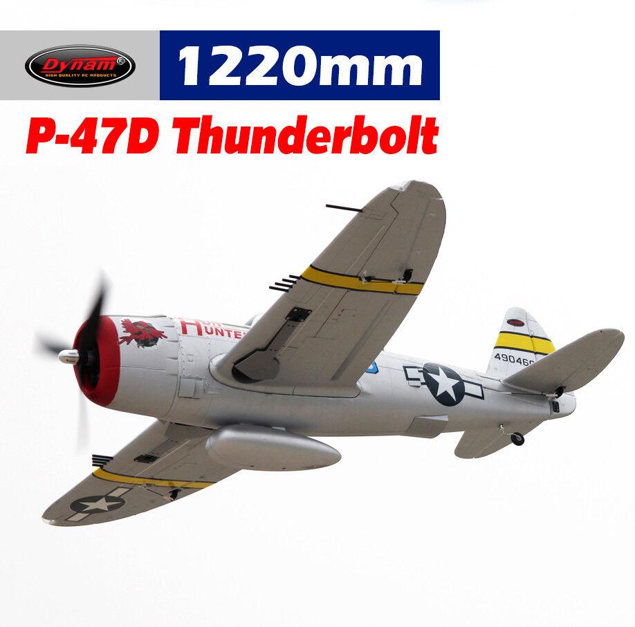 Dynam p47-d blitz 1220mm spannweite - srtf