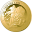 miniature 1 - 2021 Una & the Lion 1/4oz Gold Proof Coin Ltd Edition 500  Hurry Low Stock