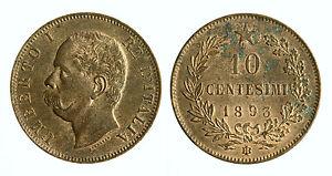 8b7610ec1a pcc1829_2) Regno Italia Umberto I (1878-1900) 10 Centesimi 1893 ...