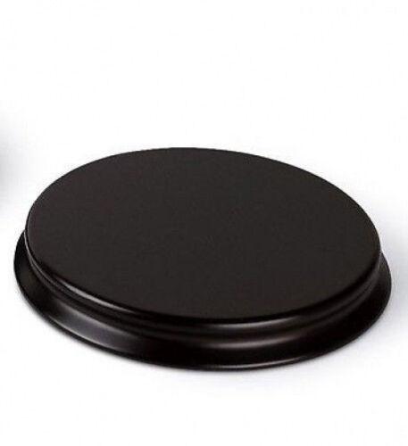 Base  Diameter Round Wooden Display Plinth 10cm top