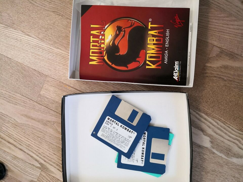 Mortal Kombat, Amiga