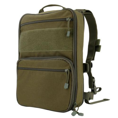 D3 Flatpack Military Tactic Backpack Outdoor Camping Hiking Trekking Travel Bag