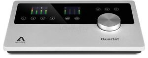 APOGEE QUARTET USB AUDIO INTERFACE FOR MAC AND IOS 805676301136 NEW