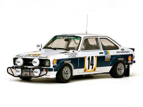SUNSTAR 4491 4492 Ford Escort RS1800 rally car Vatanen 1977 Latvala 2010 1 18th