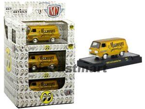 M2-Machines-1-64-Mooneyes-1965-Ford-Econoline-Van-Gold-S69-Hobby-Exclusive-Model