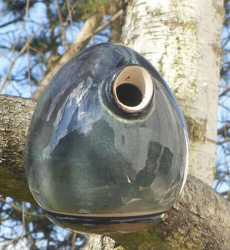 Vogelhaus Brutkasten Nistkasten Keramik Nisthöhle T P