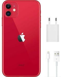 Apple-iPhone-11-RED-128GB-Ohne-Simlock-inkl-VP-Zubehoer-Garantie