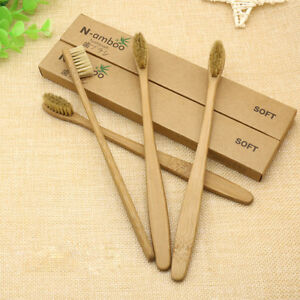 Environmental-Toothbrush-Bamboo-Friendly-ADULT-MEDIUM-FREE-POST-5-10-Pack