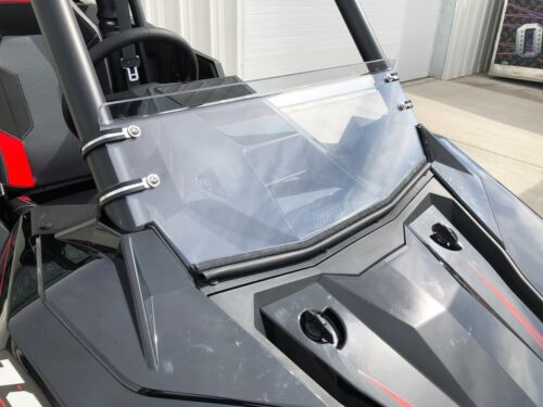 "RZR RS1 Half Windshield Clear ABRASION RESISTANT Polaris 1//4/"" Polycarbonate"