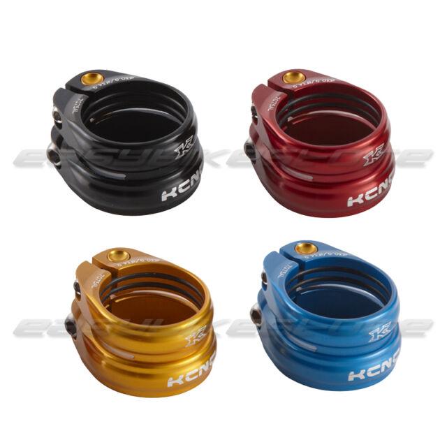 Blau ab 25,4 g 2er Set KCNC MTB Sattelklemme SC 13-30,9 mm /& 34,9 mm