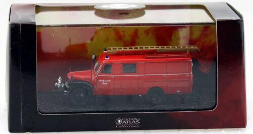 Hanomag l28 vetrina vigili del fuoco Atlas 1:72 modello di auto