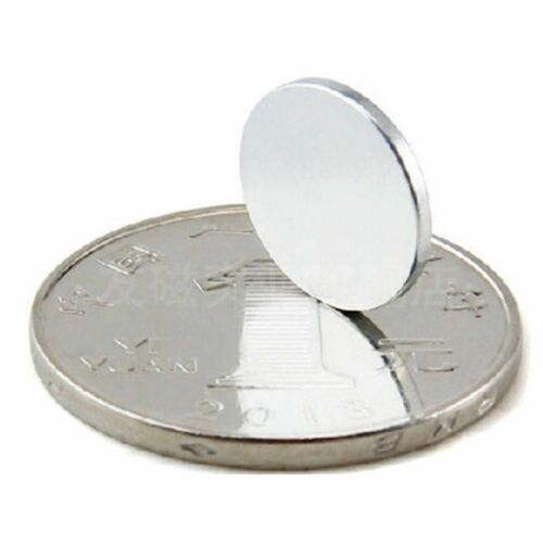12x1mm 10-100tlg N52 Starke Scheibe Runde Magneten Rare Earth Neodym magnet
